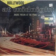 André Previn At The Piano With Rhythm Accompaniment* ‎– Hollywood At Midnight