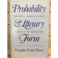 Probability & Literary Form - Philosophic theory & Literary practice in the augustan age