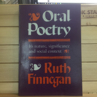 Finnegan:Oral Poetry
