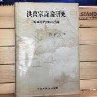 홍만종시론연구