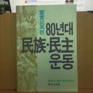 선언으로 본 80년대 민족.민주운동