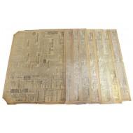 6월 25,26,27 일자 신문을 포함한 서울신문 1950년 6월분 22점 (1950년)