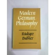 Modern German philosophy