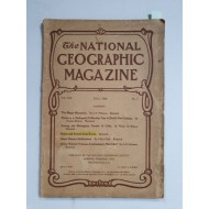 조선에 관한 특집 삽화가 담긴 The National Geographic Magazine 1908년 7월호
