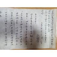 경북 칠곡의 유학자 화강華岡 장상학張相學 간찰