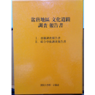 분당지구 문화유적 조사 보고서 (전 2권)