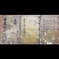 안동권씨세보 (安東權氏世譜) 총49책-1907년 150부 한정본