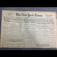 손기정 관련 기사 미국신문2부 1936년(헤럴드트리뷴,뉴욕타임즈-각각 1면과 스포츠면 기사)