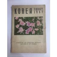 KOREA TODAY 1957