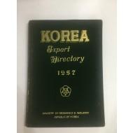 KOREA Export Dictionary 1957