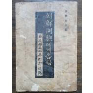 [朝鮮同胞에게 告함] 1945 재판