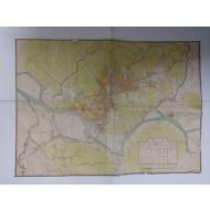 경성 시가전도 京城市街全圖